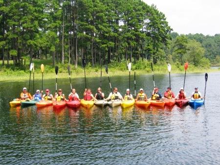 A Paddle Salute!