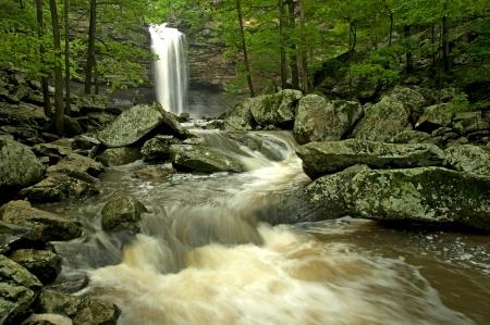 Cedar Falls, below Mather Lodge, is one of the most beautiful settings in Arkansas.