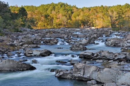 Cossatot Falls is one of the most picturesque places in the state.