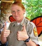 Asst. Park Superintendent Sarah Keating