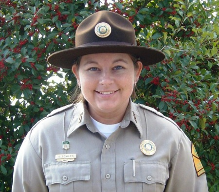 Park Interpreter Sasha Bowles