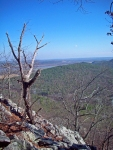 Hiking to the top rewards visitors with awe inspiring views.