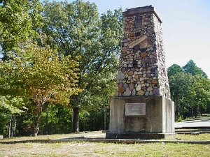 Crowley's Grave – this monument was built in the Shiloh Cemetery to honor Benjamin Crowley, the first prominent settler on the ridge and the man for whom Crowley's Ridge was named.