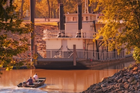 Boats help tell the story of Arkansas Rivers.