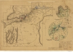 A map was drawn up by the National Park Service of Petit Jean.