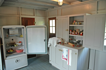Life on a working riverboat is reflected in the interior restoration.