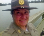 Rhonda Clay, Seasonal Park Interpreter