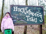 The Huckleberry Trail at Woolly Hollow State Park.