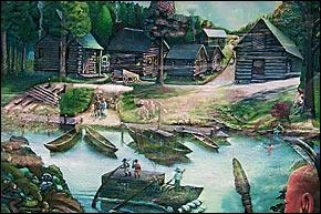 Artist rendering of Davidsonville.
