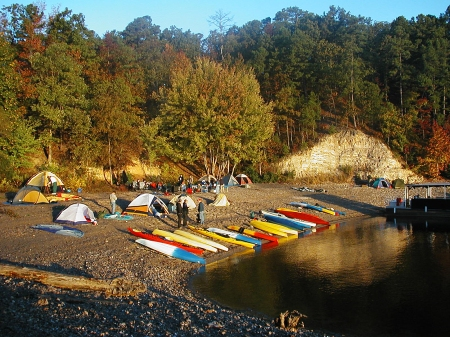The welcoming campsite.