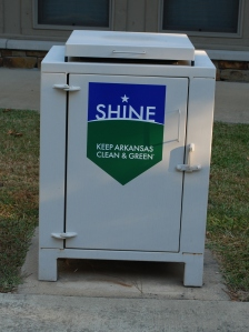 "Our ""New"" Trash Cans"