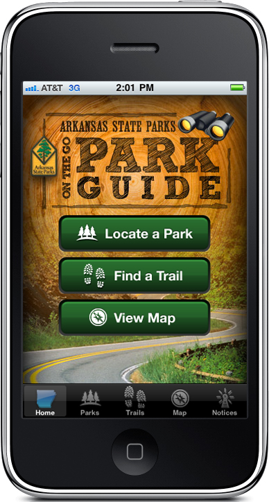 The Arkansas State Parks On-The-Go Park Guide