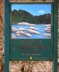 River Corridor Trail Sign.
