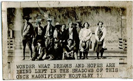 Heavener Senior Trip of 1925.