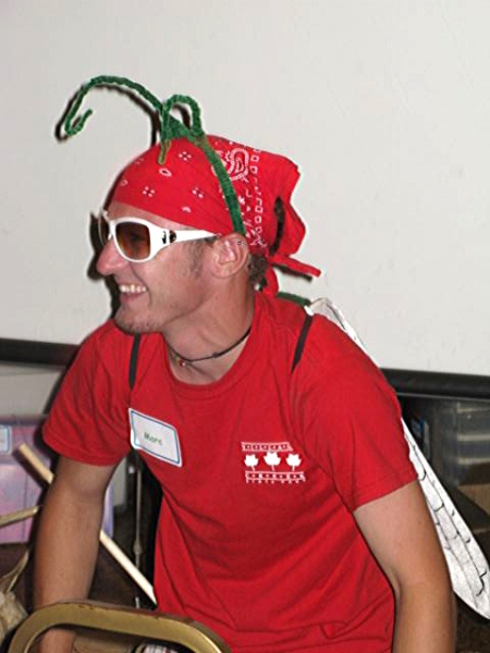 Marc, one of our camp counselors that always makes things fun!