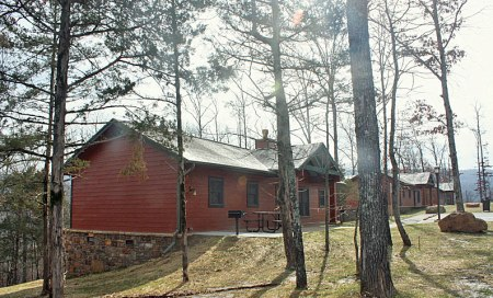 Modern cabins, all the comforts of home in a fantastic setting.