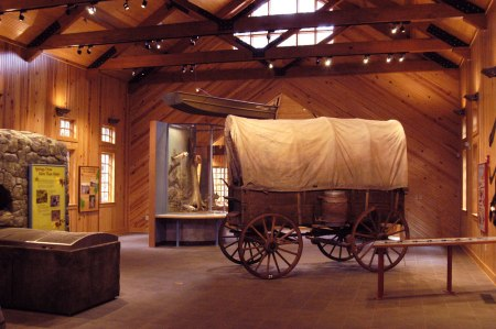 Exhibits in the Visitor Center gives you a sense of place.